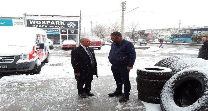Niğde Belediye Başkanı Özkan sanayi esnafını ziyaret etti