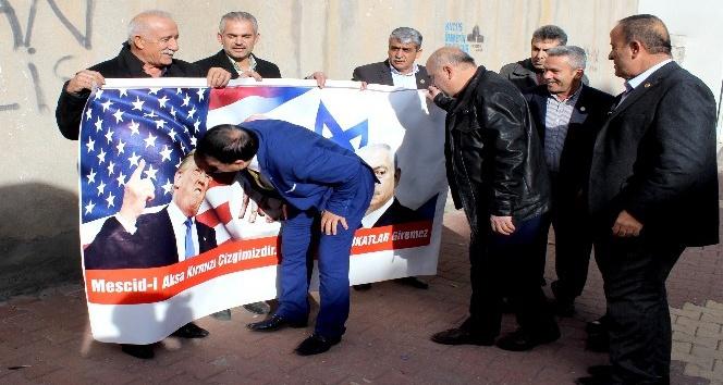 Muhtarlardan Kudüs tepkisi