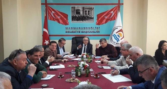 Marmaraereğlisi Belediye Meclisi oturumunda gelir tarifesi görüşüldü