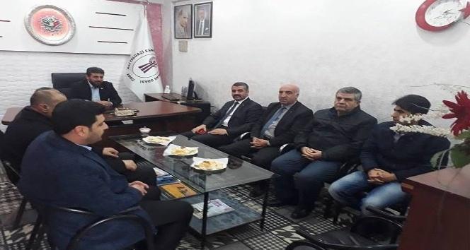 MHP İl Başkanı Avşar iade-i ziyaretlerine devam ediyor