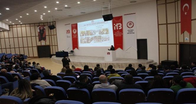 SDÜ'de TÜBİTAK Bilim - Eğitim ve Toplum Bilgilendirme Semineri