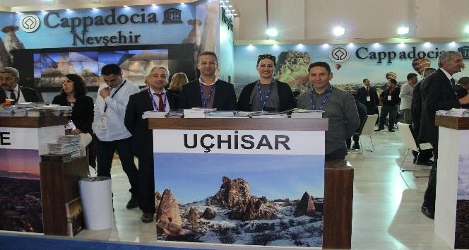 Uçhisar Belediyesi Travel Turkey'de Kapadokya'yı tanıtıyor
