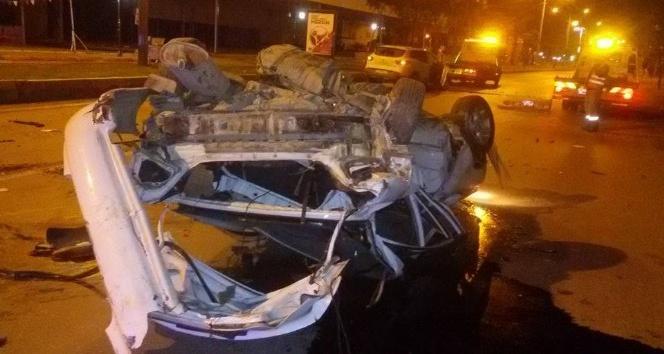 Mersin'de kaza; 2 ölü, 2 yaralı