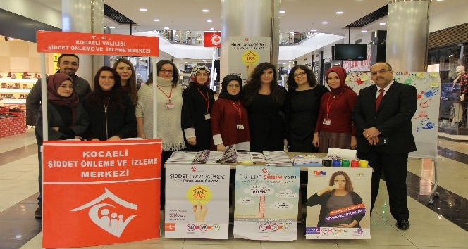 Kadına yönelik şiddet için toplandılar