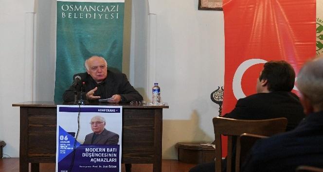 Modern bati düşüncesinin açmazlari Osmangazi'de konuşuldu