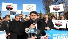 "Karamanlı STKlardan ""Kudüs"" protestosu"