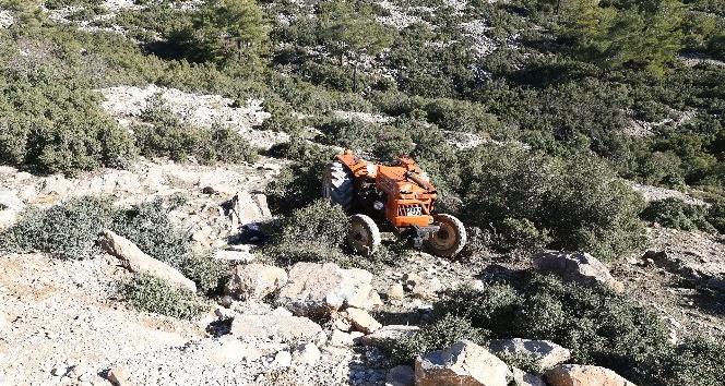 Yatağan'da traktör devrildi: 1 ölü
