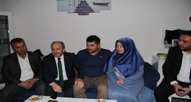 Karadağ'dan 15 Temmuz gazisi çifte ziyaret