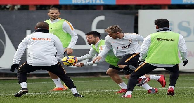 Galatasaray, T.M. Akhisarspor maçı hazırlıklarını sürdürüyor