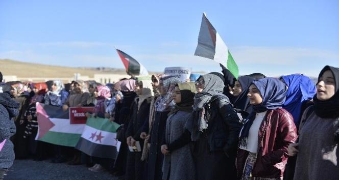 Mardin'de Kudüs tepkisi