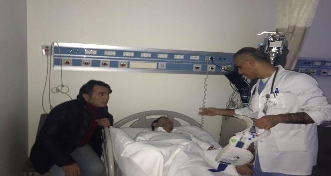 E. Yeni Malatyaspor Kulüp Başkanı Adil Gevrek kaza geçirdi