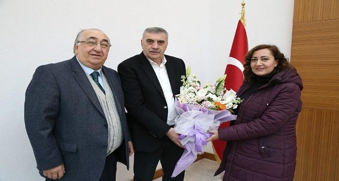 Başkan Toçoğlu, Yaşatma ve Güzelleştirme Derneği üyeleri ile bir araya geldi