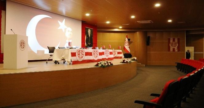 Antalyaspor Olağanüstü Genel Kurulu'nda flaş gelişme