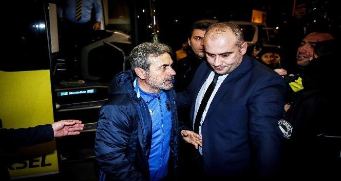 Fenerbahçe kafilesi Bursa'ya geldi