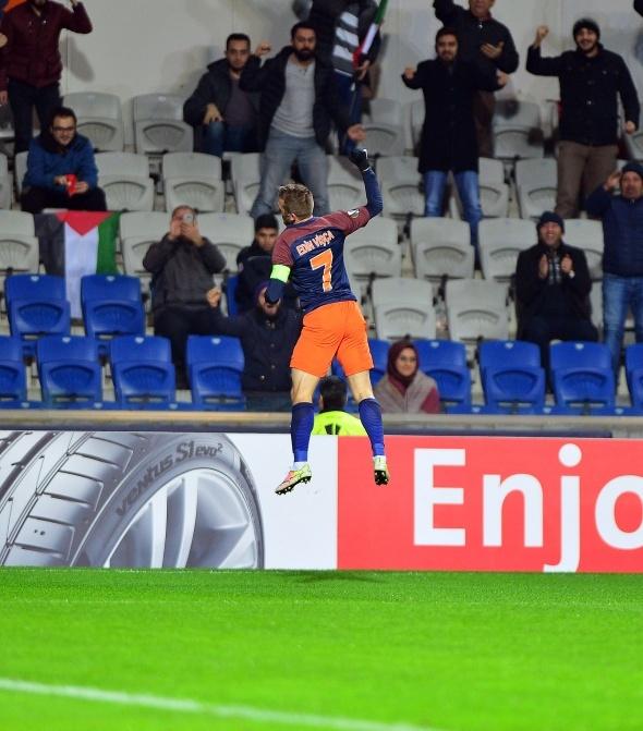 Başakşehir Braga maçından kareler