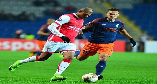 UEFA Avrupa Ligi: Medipol Başakşehir: 2 - Braga: 1 (Maç sonucu)
