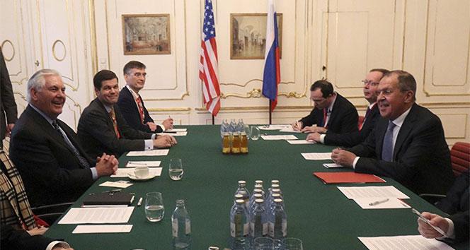Tillerson ve Lavrov Viyanada bir araya geldi