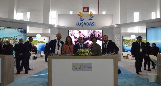 Kuşadası Belediyesi, Travel Turkey Fuarı'nda stand açtı