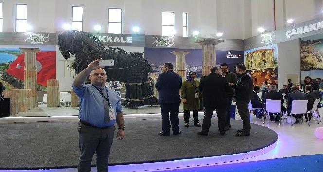 Troia yılı, Travel Turkey İzmir'de görücüye çıktı