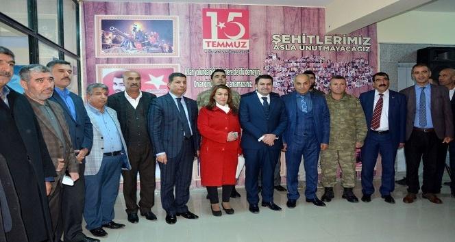Ceylanpınar'da Kütüphane ve 15 Temmuz Köşesi törenle açıldı