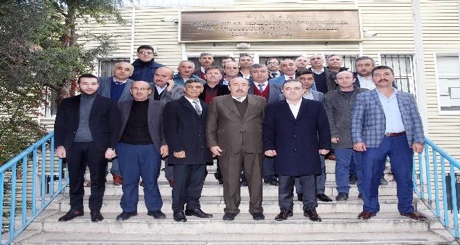 """Başkan Ercan: """"Esnafımızın daima yanındayız"""""""