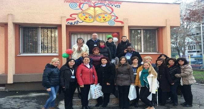 Naciye Kabakçı Anaokulu Bulgaristan'da göz kamaştırdı