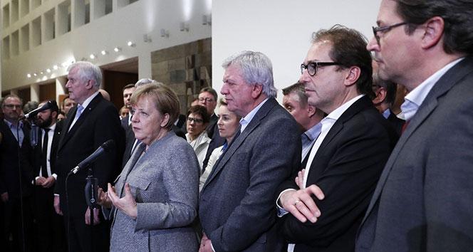 Büyük koalisyon için ilk görüşme Çarşamba günü