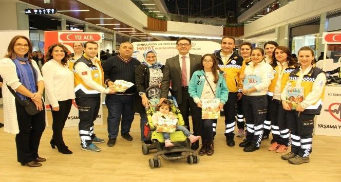 112 Acil Sağlık Personellerinden farkındalık çalışmaları