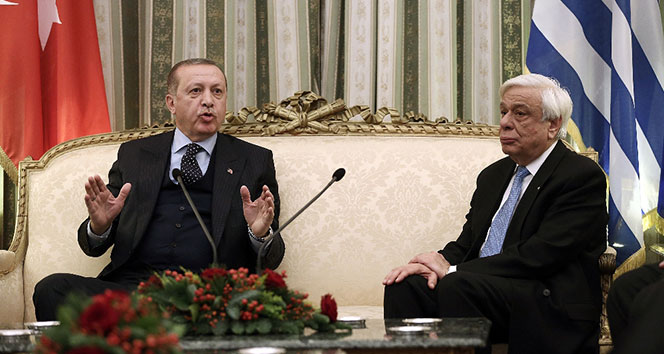 İngiliz basını: 'Erdoğan, Yunan Cumhurbaşkanını şaşırttı'
