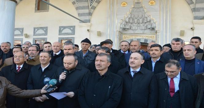 """AK Parti İl Başkanı Dağdelen: """"Kudüs kırmızı çizgimizdir"""""""