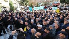 "Fatsada ""Kudüs"" protestosu"