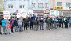 ABDnin Kudüsü kararı Keşanda protesto edildi