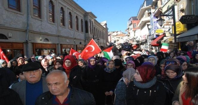 Bartınlılar, Kudüsün özgürlüğü için meydanlara çıktı