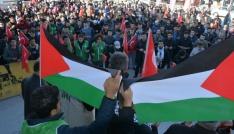 ABDnin Kudüsü İsrailin başkenti olarak tanımasına tepki