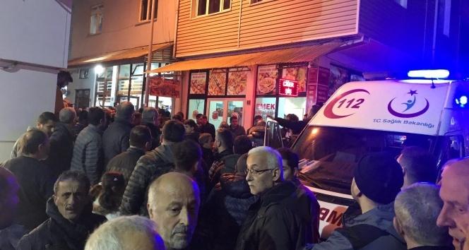Alaplıda 50 kişilik grup kahvehane bastı: 1 yaralı