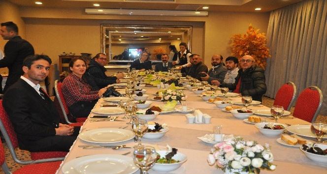AK Parti Mardin Milletvekili Ceyda Bölünmez Çankırı basın mensupları ile bir araya geldi