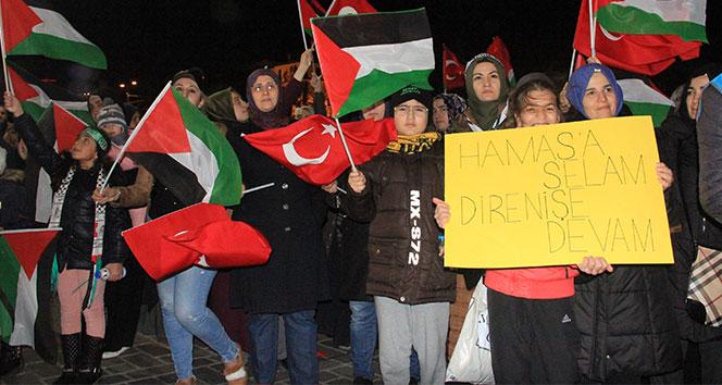 Ayasofya Meydanında İsrail protestosu