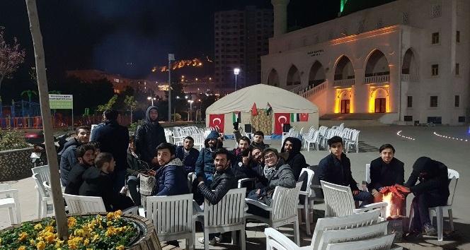 Mardin Kudüs İçin nöbete başladı