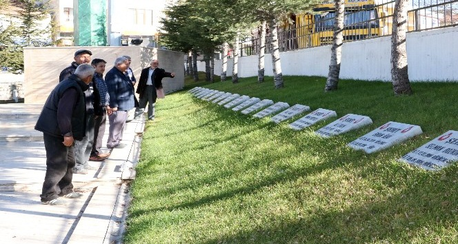 Sarıkaya Kızılelma Şehitlik Anıtına ziyaretçi akını