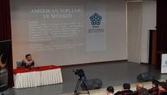 Çin Shanghai Üniversitesinden Doç. Dr. Tuğrul Keskin NEÜde konferans verdi