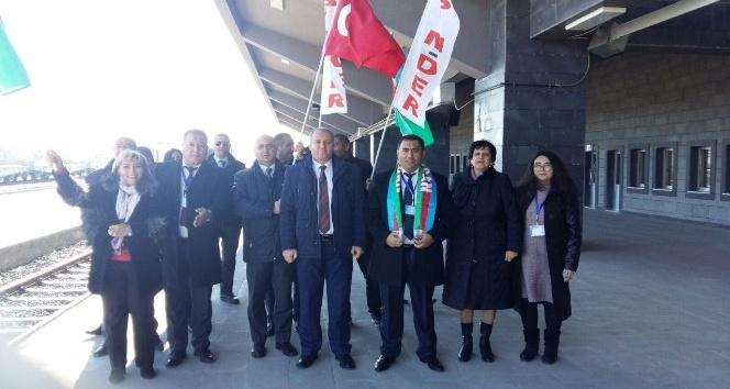 Asimder ve Azerbaycan heyeti Kars garını ziyaret etti