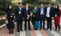 İhlas Koleji, Avrupa Gençlik Parlamentosu'da temsil edildi