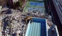 Bakırköydeki olaylı yıkım alanı havadan görüntülendi