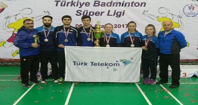 Erzincan Türk Telekom Spor Süper Ligin İkincisi