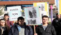 Down sendromlulardan Sessiz Kudüs Protestosu