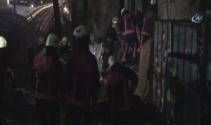 Beyoğlunda metruk binada çökme meydana geldi: 1 ölü