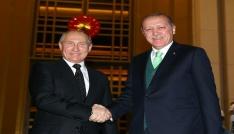 Cumhurbaşkanı Erdoğan, Rusya Devlet Başkanı Putini Külliyede karşıladı