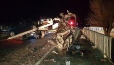 Gedizde trafik kazası: 6 yaralı