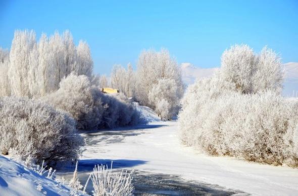 Doğu'da Sibirya soğukları!