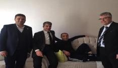 AK Parti Merkez İlçe Teşkilatından hasta ziyareti